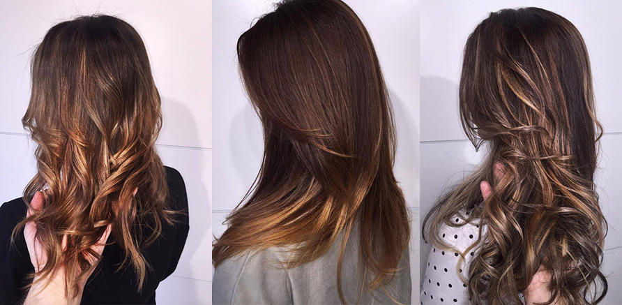 balayage ombre trend