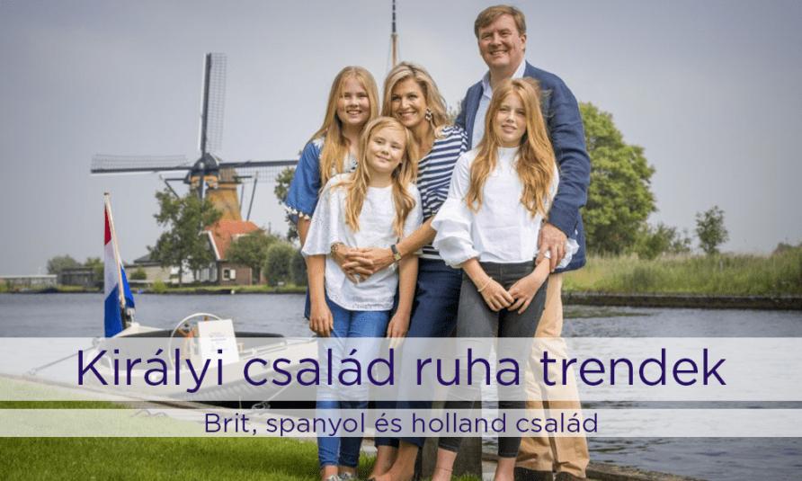 Királyi család ruha trendek