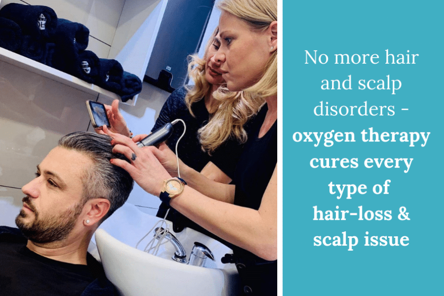 Oxygen Therapy - natural treatment for hair-loss & scalp disorders