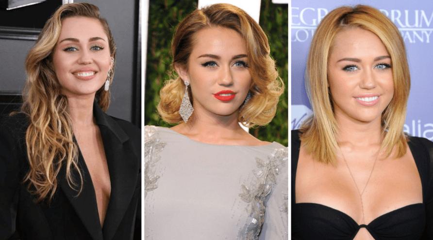 Sokoldalú Miley Cyrus haj trendek